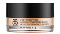 Arbonne Mineral Powder Foundation- perfect for oily/combination skin